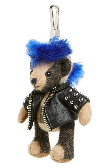 Burberry  Thomas Punk Bear  Bag Charm available at  Nordstrom ... 0d4ad36eb3