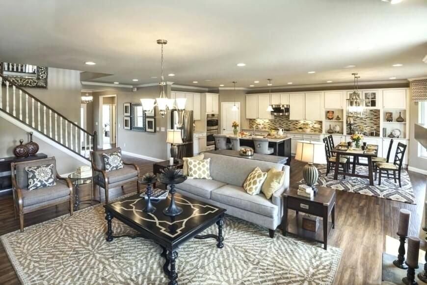 Open Concept Kitchen And Living Room Incredible Great Room Designs Ideas Small Open Concept Living Room Open Concept Kitchen Living Room Big Living Room Design