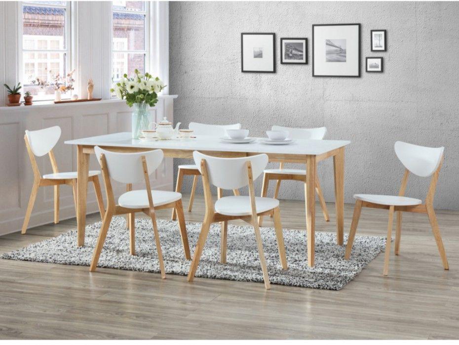 6 Personnes Table Extensible Avec Chaises POiukZX