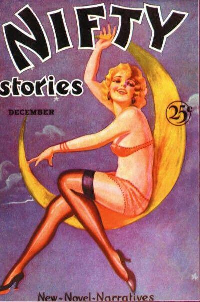 Dec 1930 Nifty Stories Vintage Magazine Cover