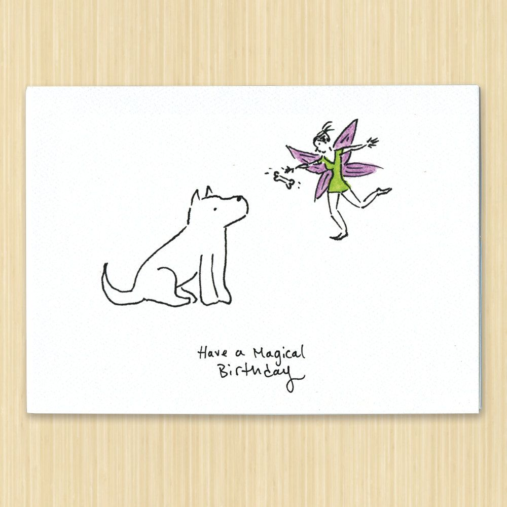 Have a magical birthday card fairy card fairy greeting card by have a magical birthday card fairy card fairy greeting card by rosieswonders on etsy kristyandbryce Images