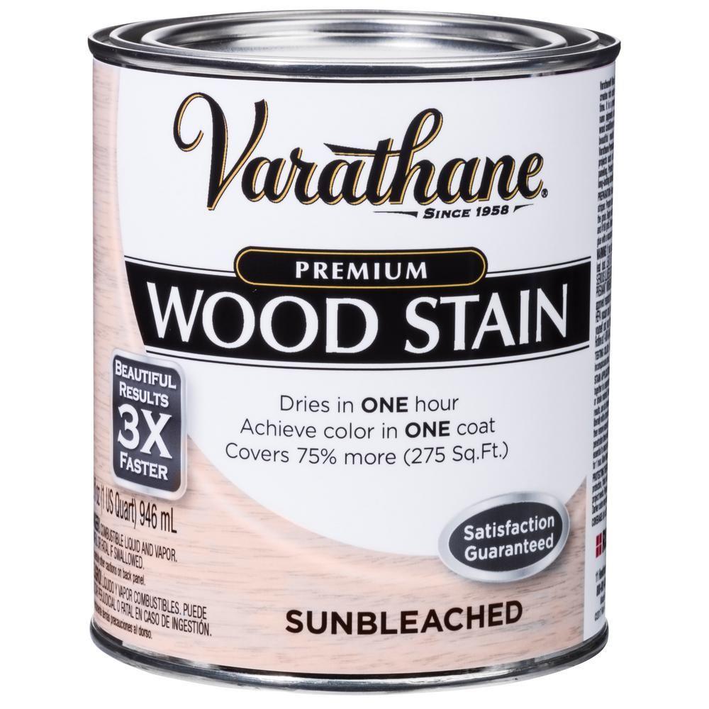 Varathane 1 qt. Sunbleached Premium Fast Dry Interior Wood