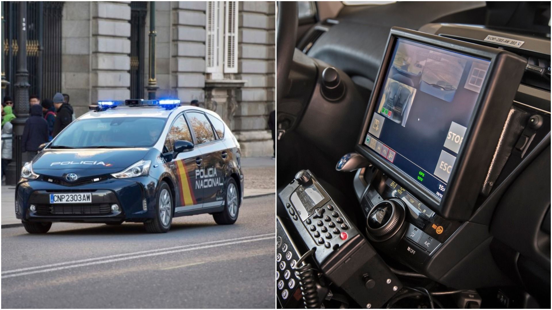 Inside Spain S New High Tech Cop Cars Being Rolled Out Across