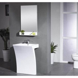Kube Bath Kub Aps247 Sette 24 In 2019 Home Modern Pedestal Sink