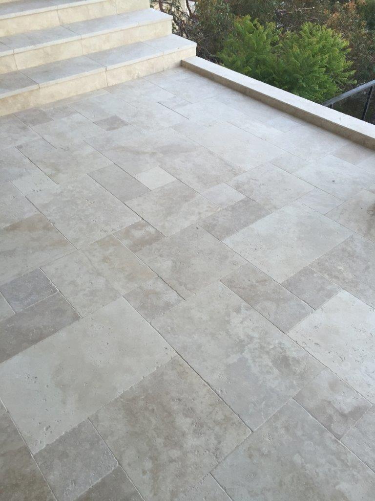 Pin by Cyndy S on Backyard Travertine, Travertine tile