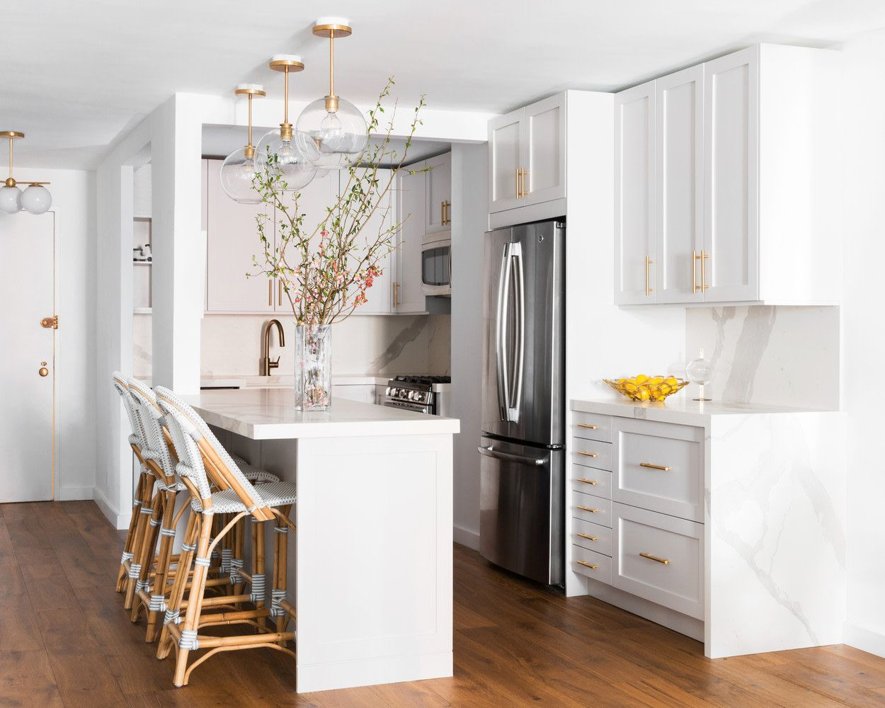 Best Nyc Gramercy Park French Country Kitchen Makeover 640 x 480
