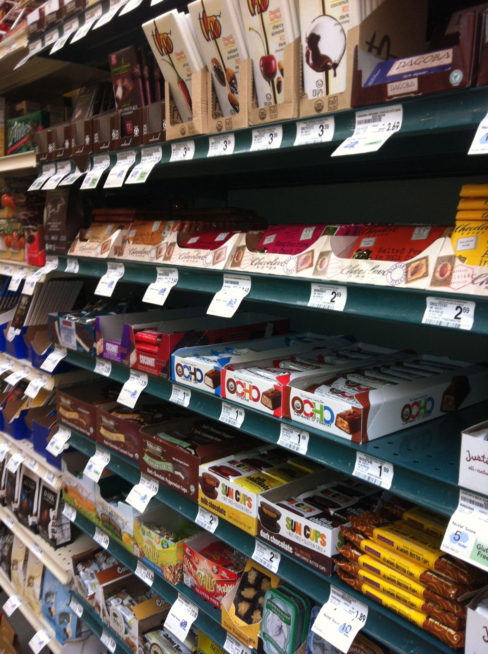 Rocklin Bel Air Shelf Placement, Natural Foods Section