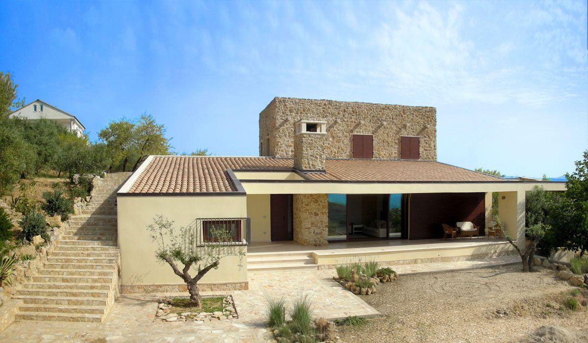 Progetto Villa Unifamiliare Pisani Edilizia Villa House E Design