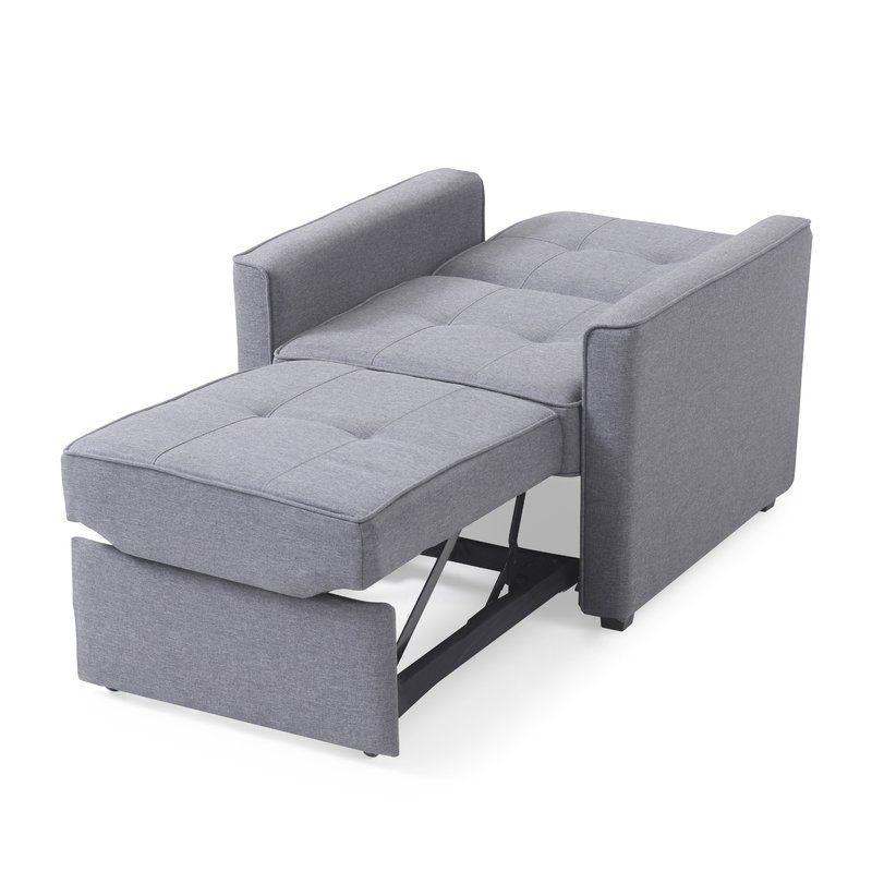 Ivy Bronx Cushman Convertible Chair Reviews Wayfair Chair Bed Convertible Furniture Furniture