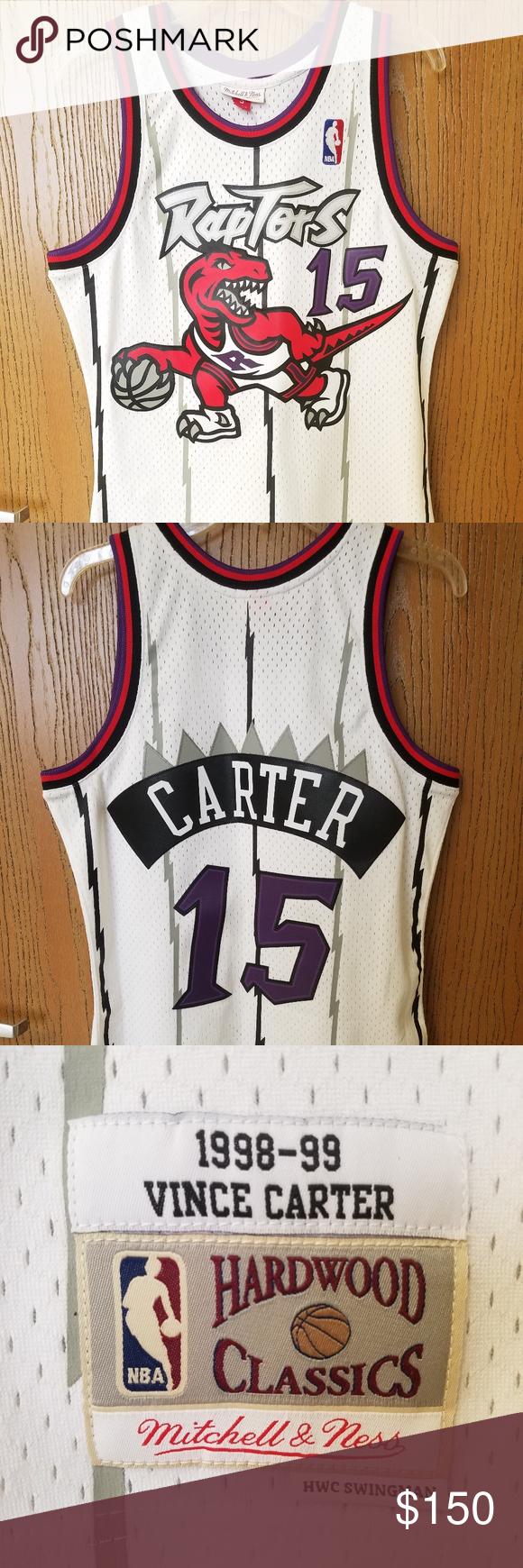 894d969229b Vtg Mitchell & Ness Vince Carter 15 Raptors Jersey New without tags Mitchell  and ness hardwood classics swingman jersey. NBA Toronto Raptors Vince Carter  ...