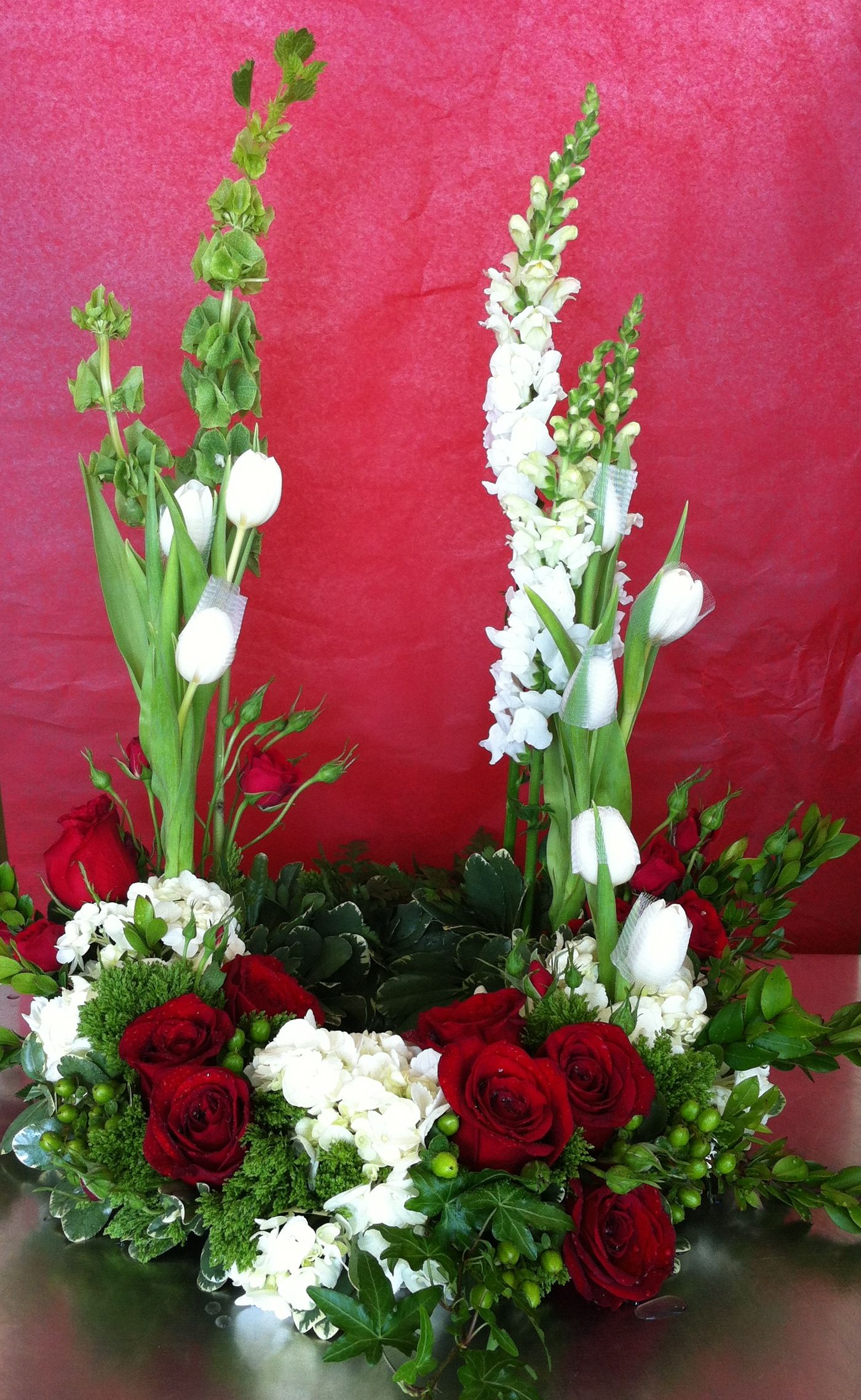Arrangement Is An Elegant And Sophisticated Way To Surround Their
