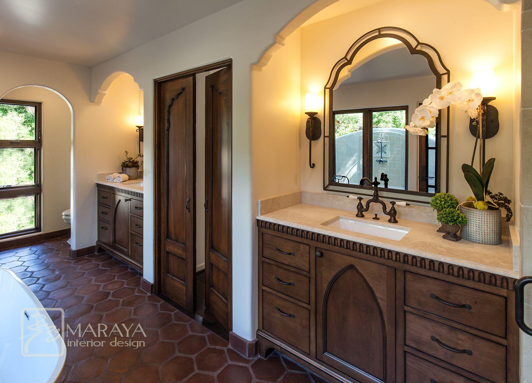 Maraya Interior Design Spanish and Indian Bath Amazing