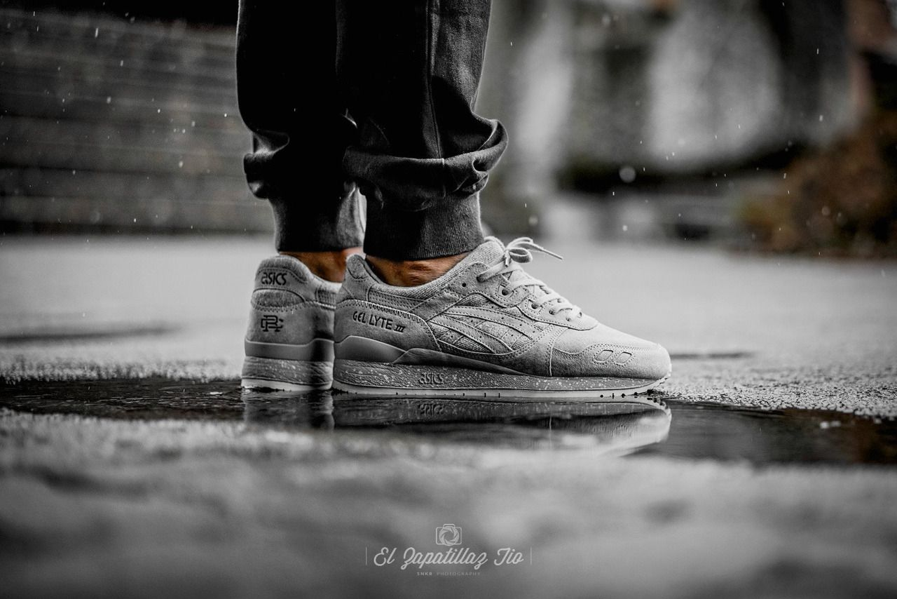 quality design b9ffb d39df Reigning Champ x Asics Gel Lyte III - Grey... – Sweetsoles – Sneakers,  kicks and trainers. On feet.