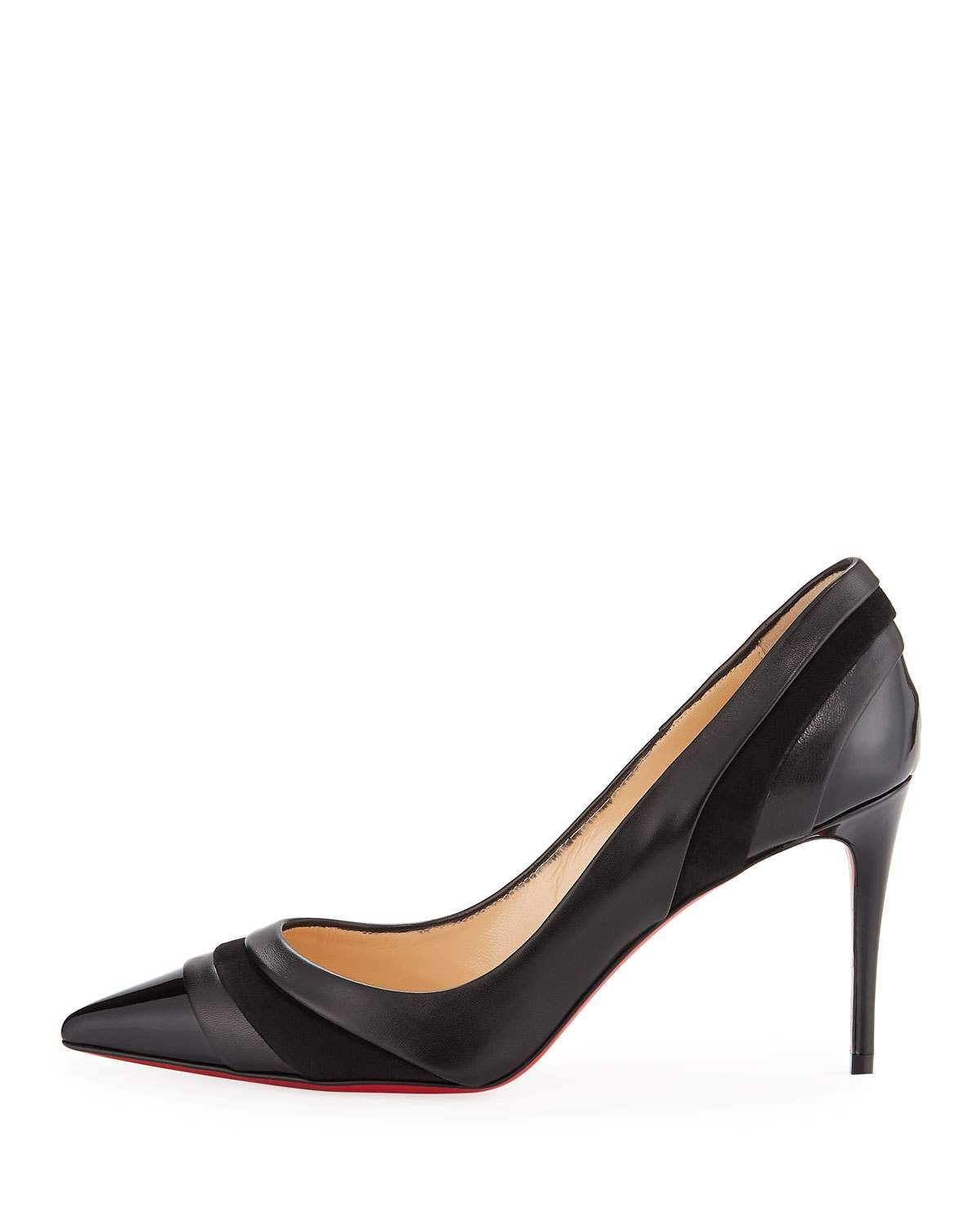 new product e14bf 948ec Christian Louboutin Eklectica 85mm Red Sole Pumps | Products ...