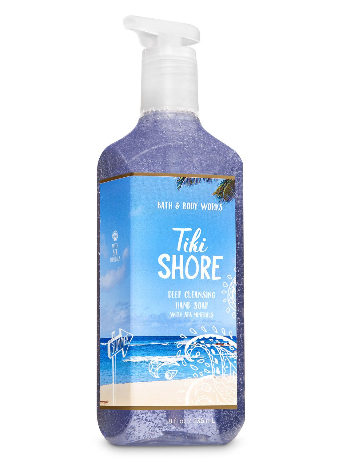Tiki Shore Deep Cleansing Hand Soap By Bath Body Works Deep