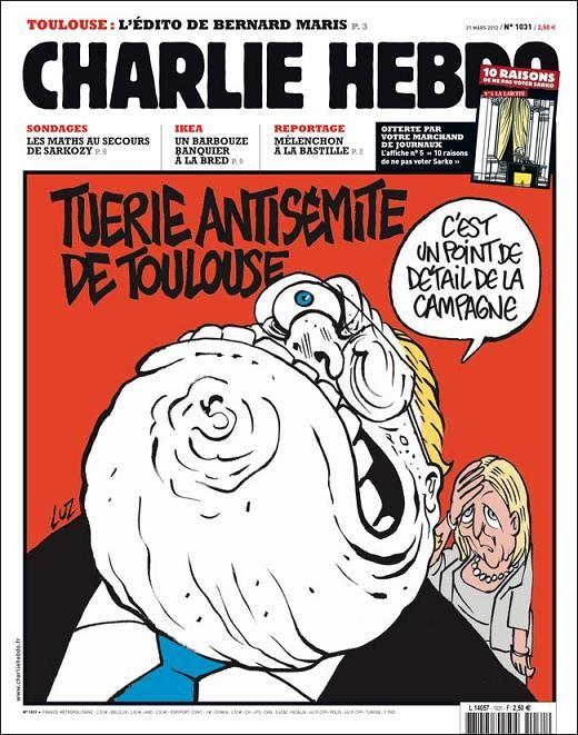 Semitiske drab på Toulouse. Det er et meget detaljerigt