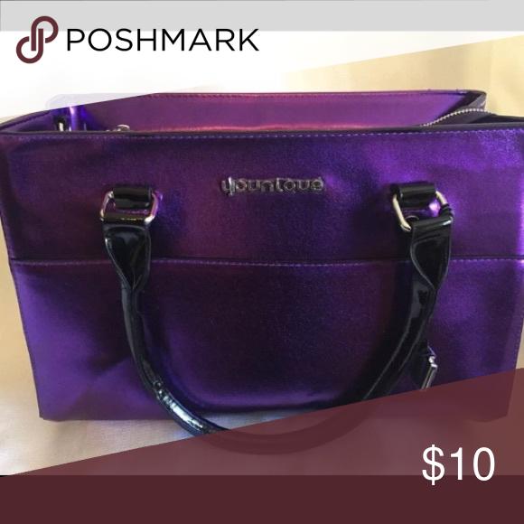 Younique purse (Presenters Bag) New metallic purple Lots