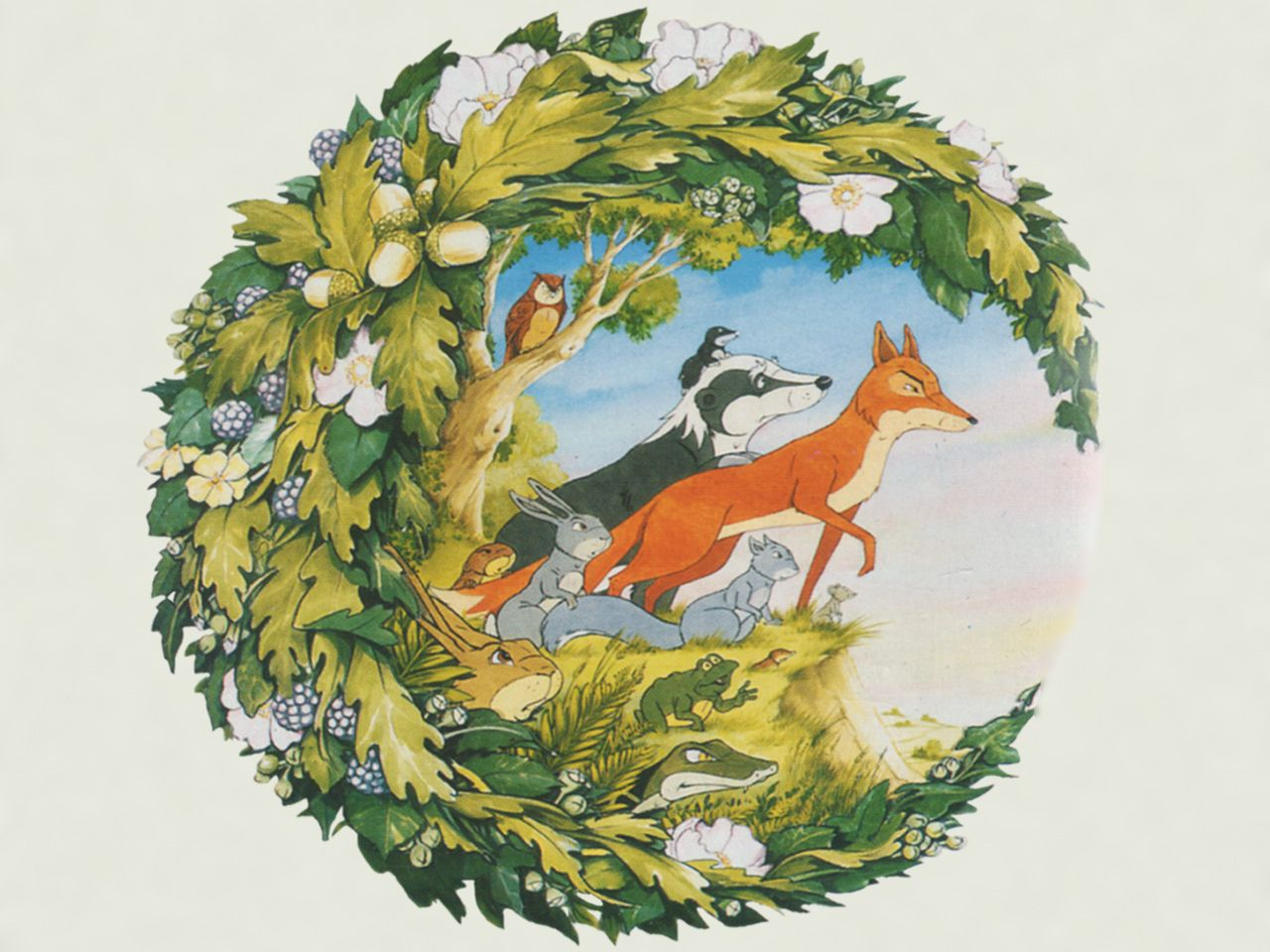 woodland animals Google Search Childhood, Childhood