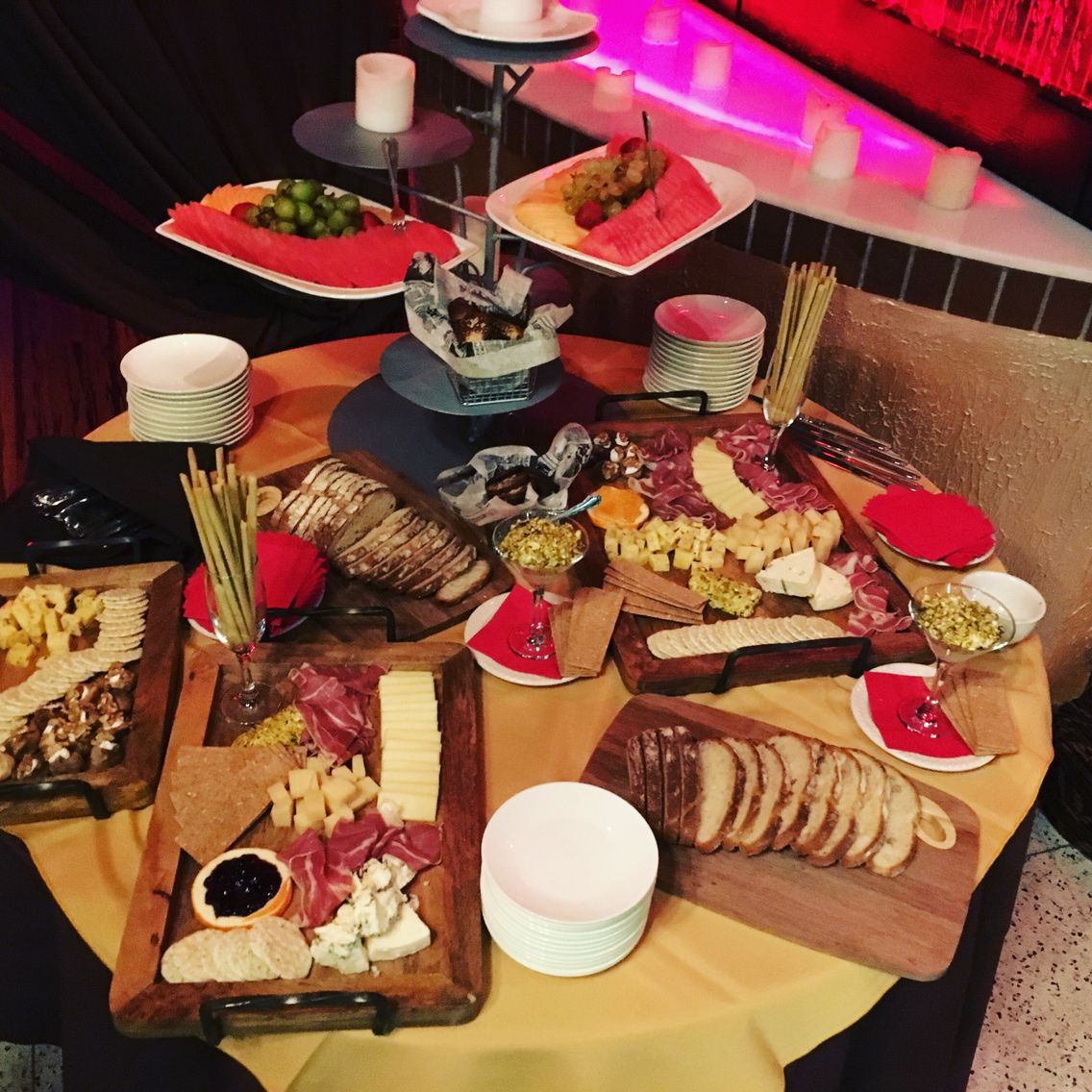 This Weeks Tasting Table At Encore Restaurant Nyc Bay Ridge
