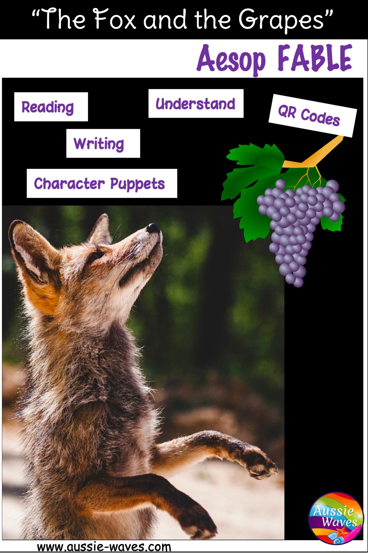 Aesop Fable Story Amp Activity Task Cards The Fox And The