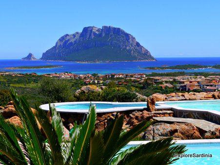 Veduta dell'isola di Tavolara