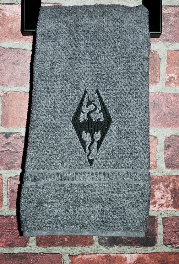 Skyrim Inspired Video Game Xbox Ps3 Geek Home Decor Nerd