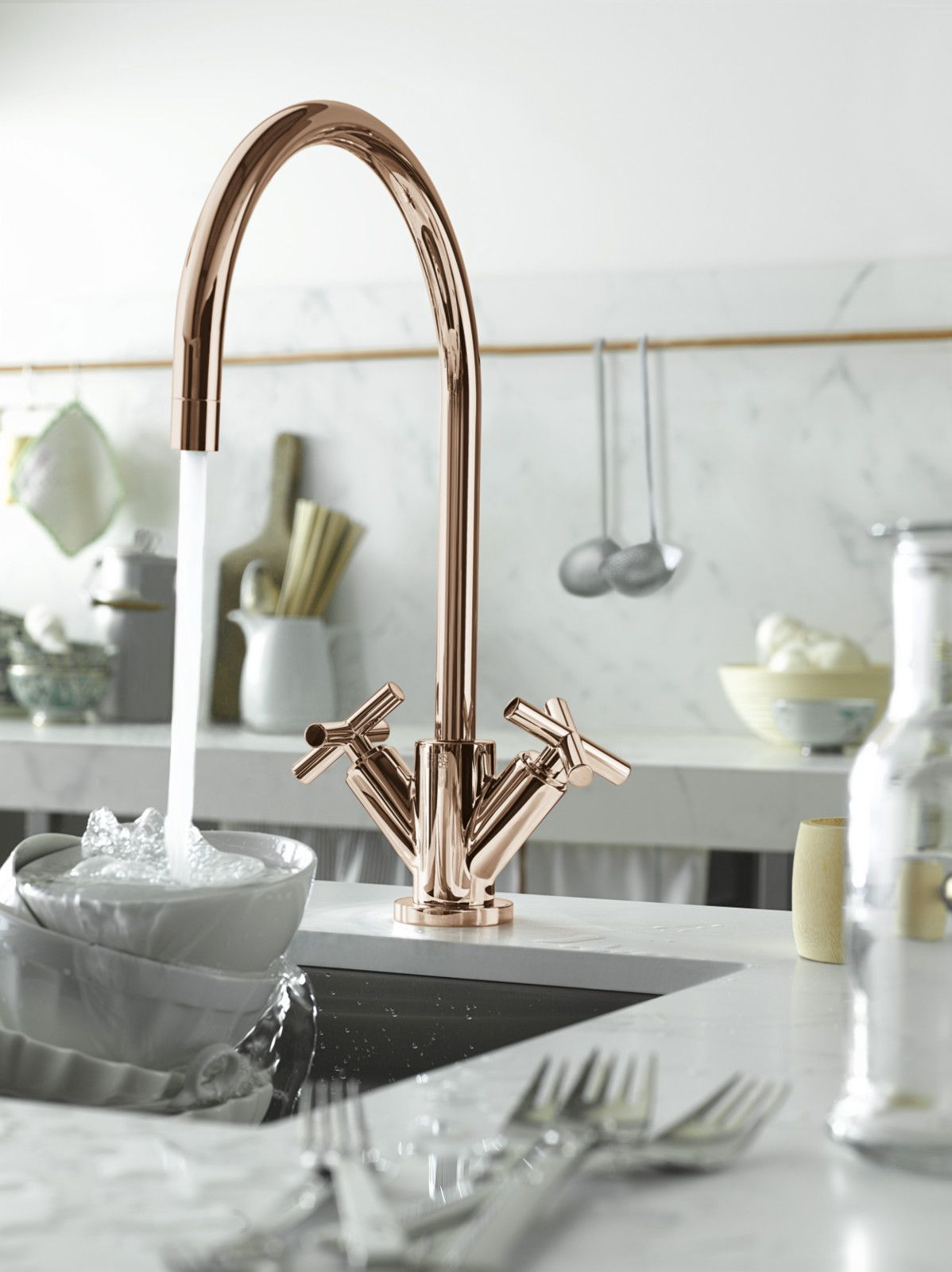 Tap Designs For Kitchens Dornbracht Tara Classic In Cyprum Rose Gold Finish So Pretty