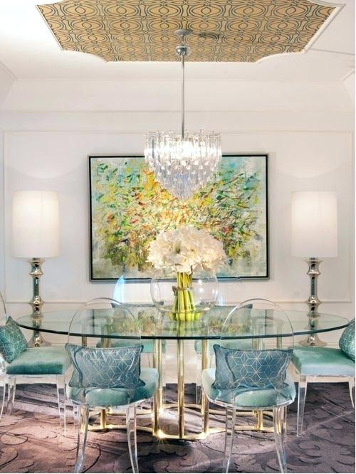 Dining Room Extraordinary Best Clear Chairs Ideas On Ghost Unique Houzz Table Decor Cool In Glass Dining Room Table Elegant Dining Room Eclectic Dining Room