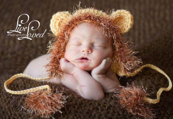 Baby Lion Hat