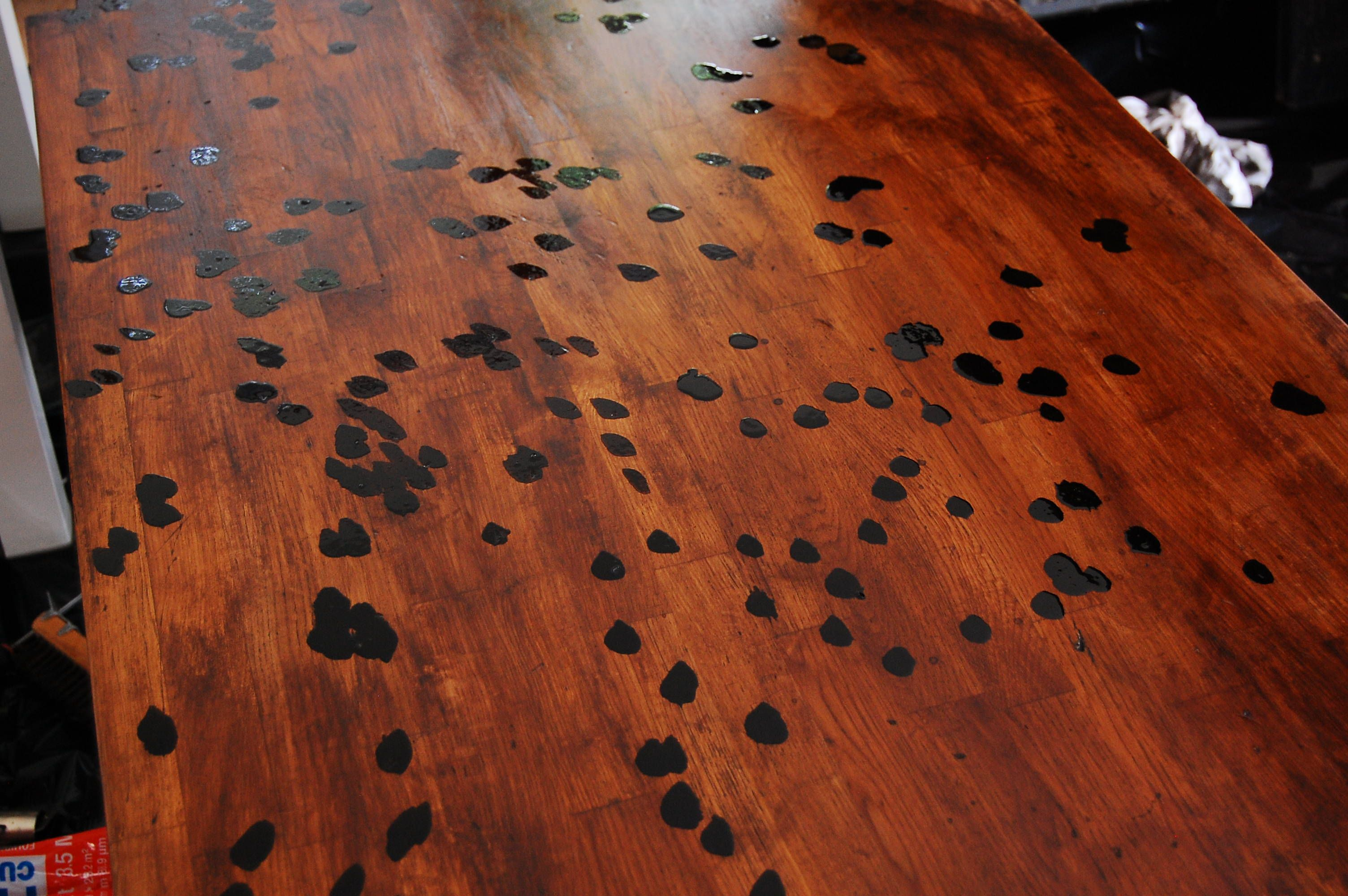 Distressed Butcher Block Countertops How To Distress Wood Wood