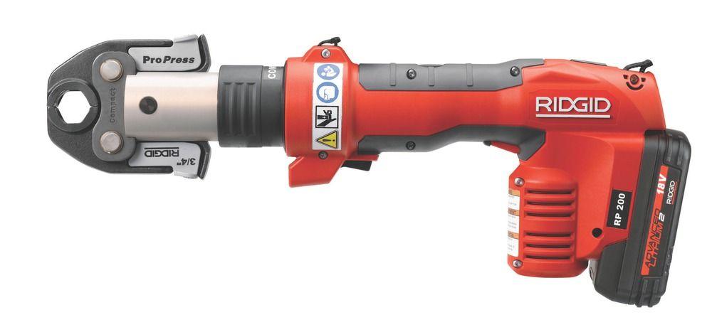 Resplendent Ridgid Press Tool Plumbing Tools Tools Ridgid Tools