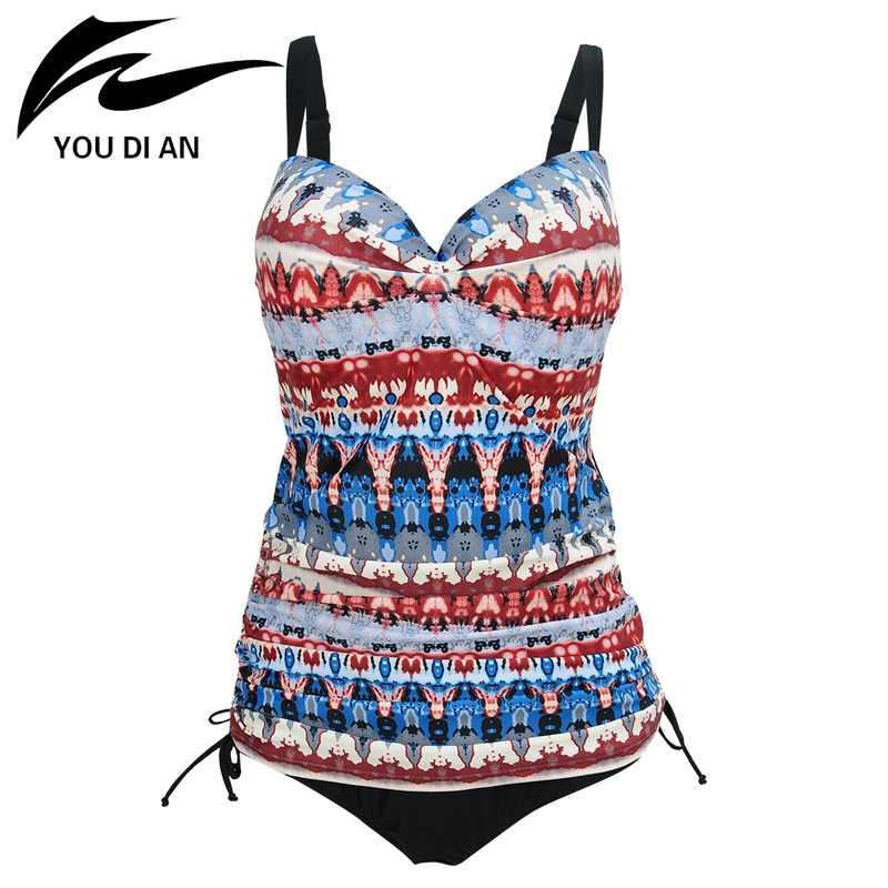 22.63$  Buy here - YOU DI AN 2017 Women's Swimsuits Of Large Sizes Push Up Swimwear One Piece Swim Wear Swimming Suit For Women Swimsuit Plus Size   #buymethat