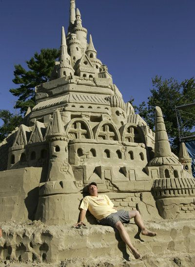 These Extraordinary Sandcastles Are Pure Wizardry