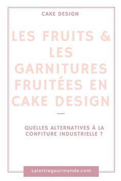 Cake design: les fruits et les garnitures fruitées