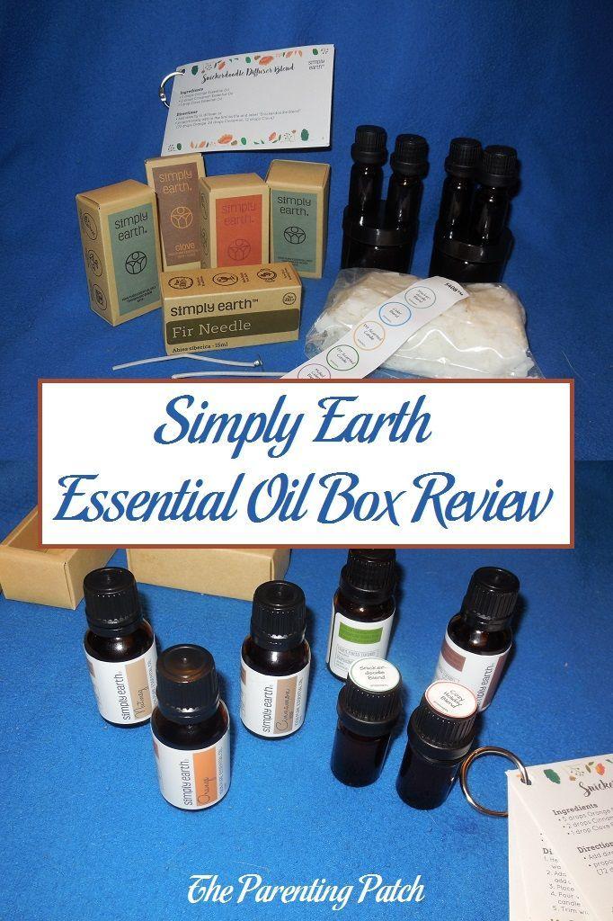 Simply Earth Essential Oil Box Review Essential oil box
