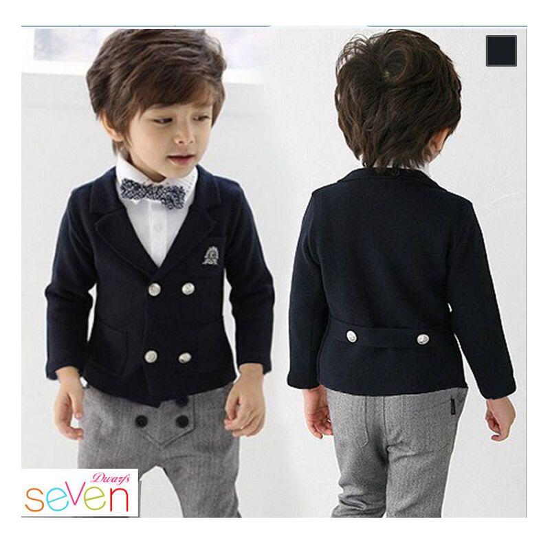 e4183c2d5 Kids Children Formal Boys Wedding Tuxedo Suits Boy Blazer Suit ...