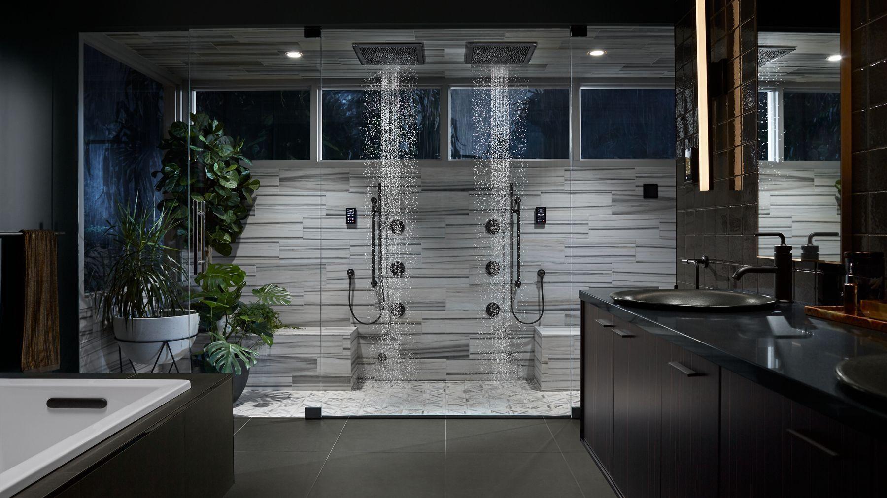 Midnight Canopy Kohler Bathroom Kohler Rain Shower Head