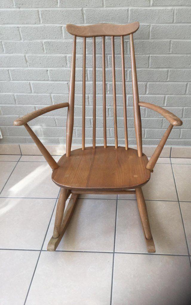 Ercol Goldsmith Cute Little Rocking Chair For Sale In Burnham On Sea Somerset Preloved Ercol Rocking Chair Rocking Chair Ercol Furniture