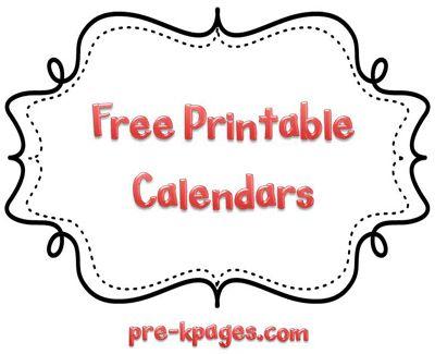 Classroom Calendars Free printable calendar, Printable calendars - homework calendar templates