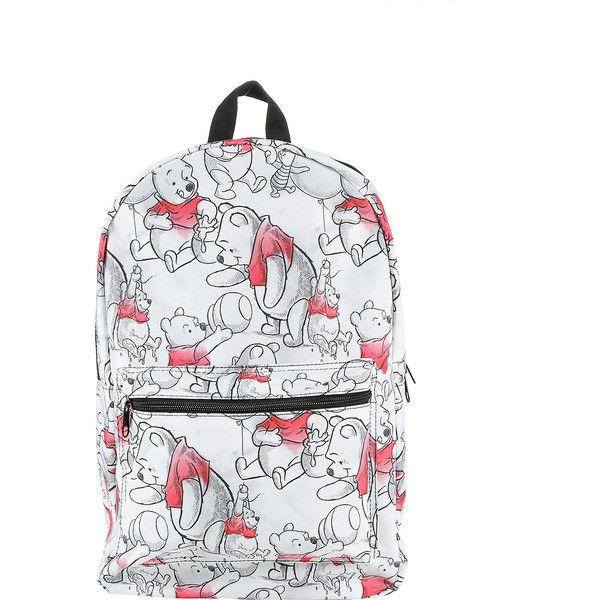 b364db85e1d Disney Winnie The Pooh Watercolor Backpack Hot Topic ( 35) ❤ liked on Polyvore  featuring bags