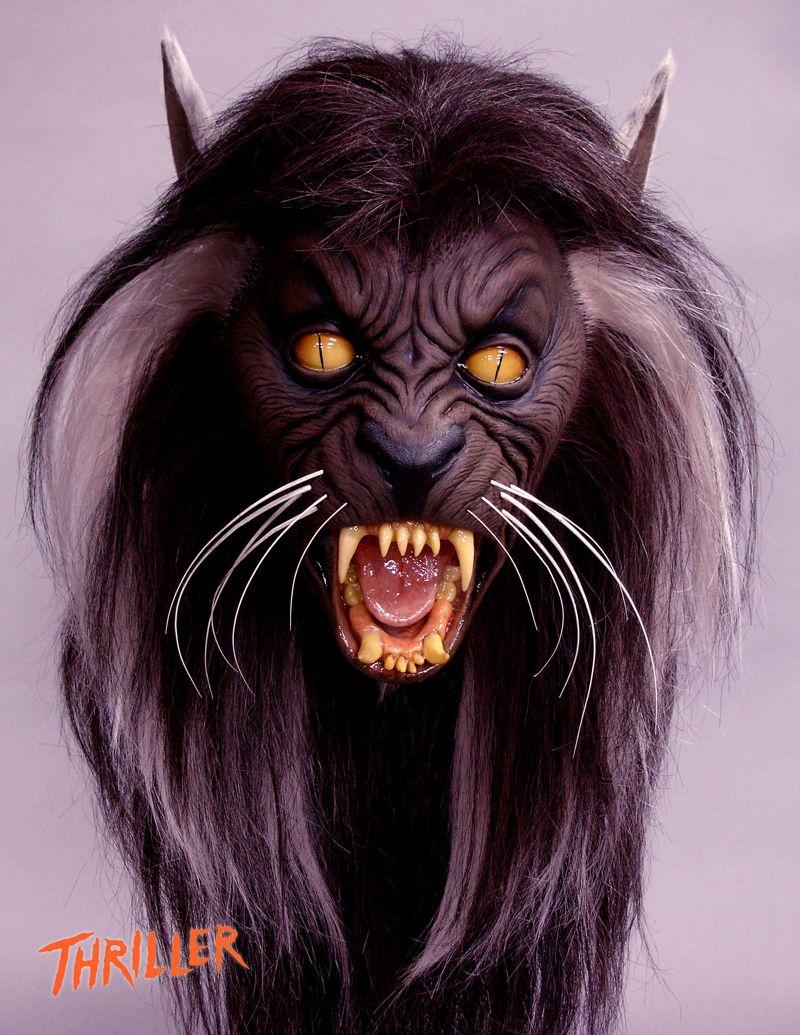 Michael Jackson Thriller Werewolf Mask Thriller Wereca...