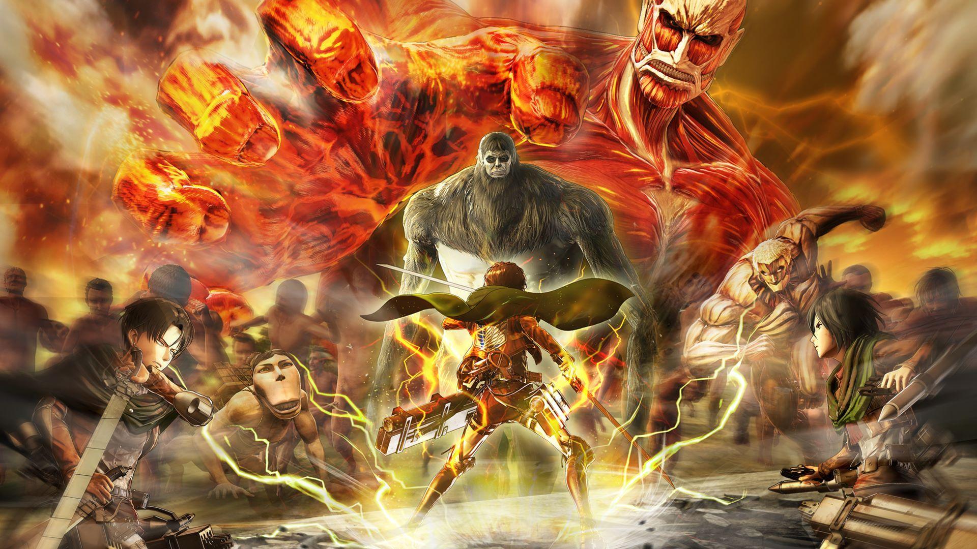 Attack on Titan 2 Final Battle ganha novos vídeos