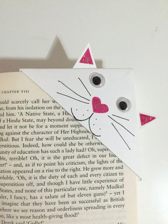 cat corner bookmark - Google Search … | Pinteres…