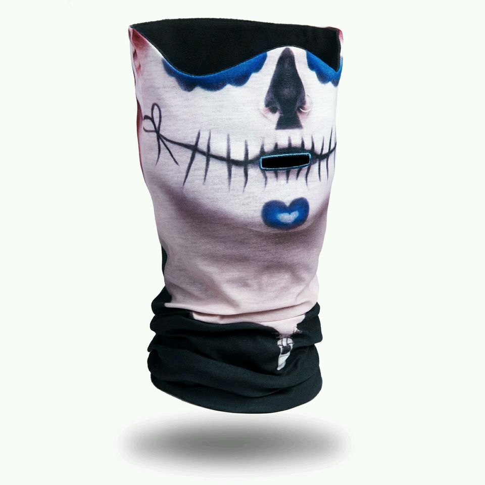Angelia Call of Duty Black Skull Face Tube Mask Neck Gaiter Dust ...
