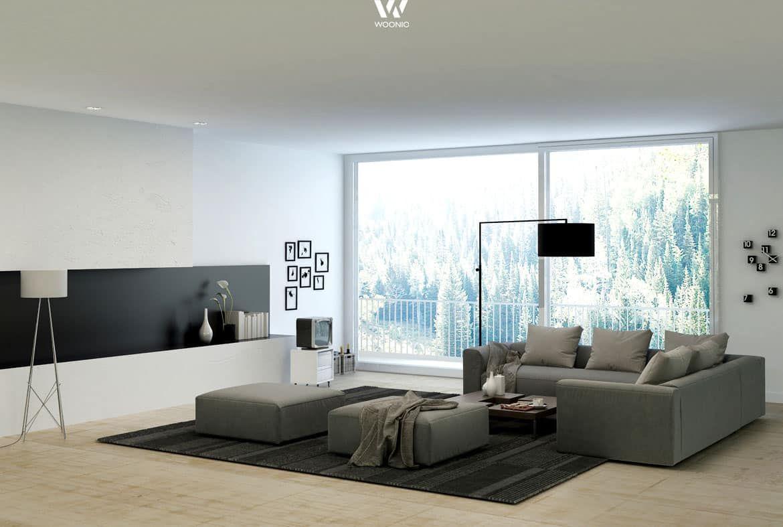 Hochwertig Wohnzimmer Einrichten Grau Schwarz