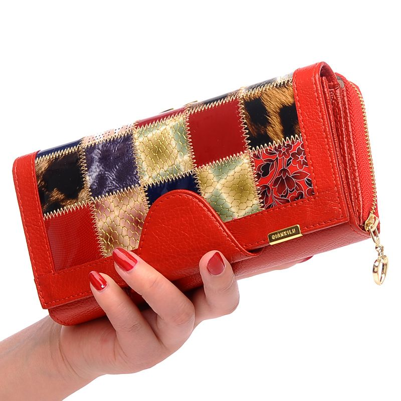 9e6fd3b82dd3 Genuine Leather Wallet High Quality Women Wallets Ladies Purses Long Coin  Pocket Female Clutch Purse Card