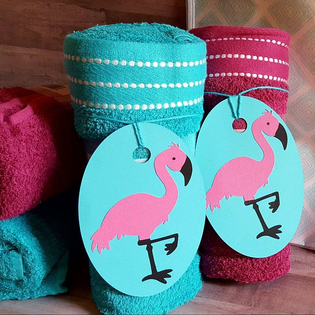 Cute Flamingo Party Favor Girl Birthday Party Pool Party Pink