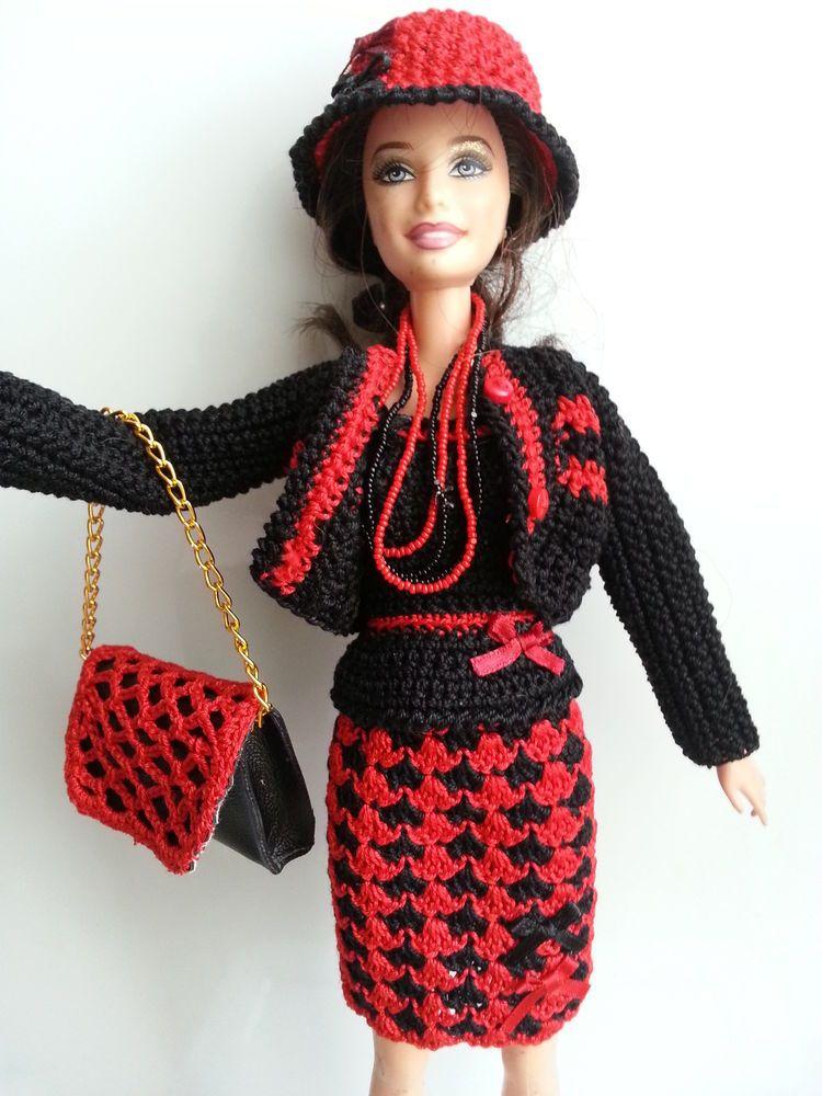 v tement pour poup e mannequin barbie 192 cathecrea pinterest barbie vestes et sac mains. Black Bedroom Furniture Sets. Home Design Ideas