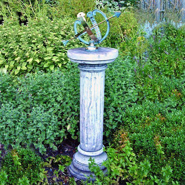 Brighton Garden Armillary Sundial Garden Pinterest