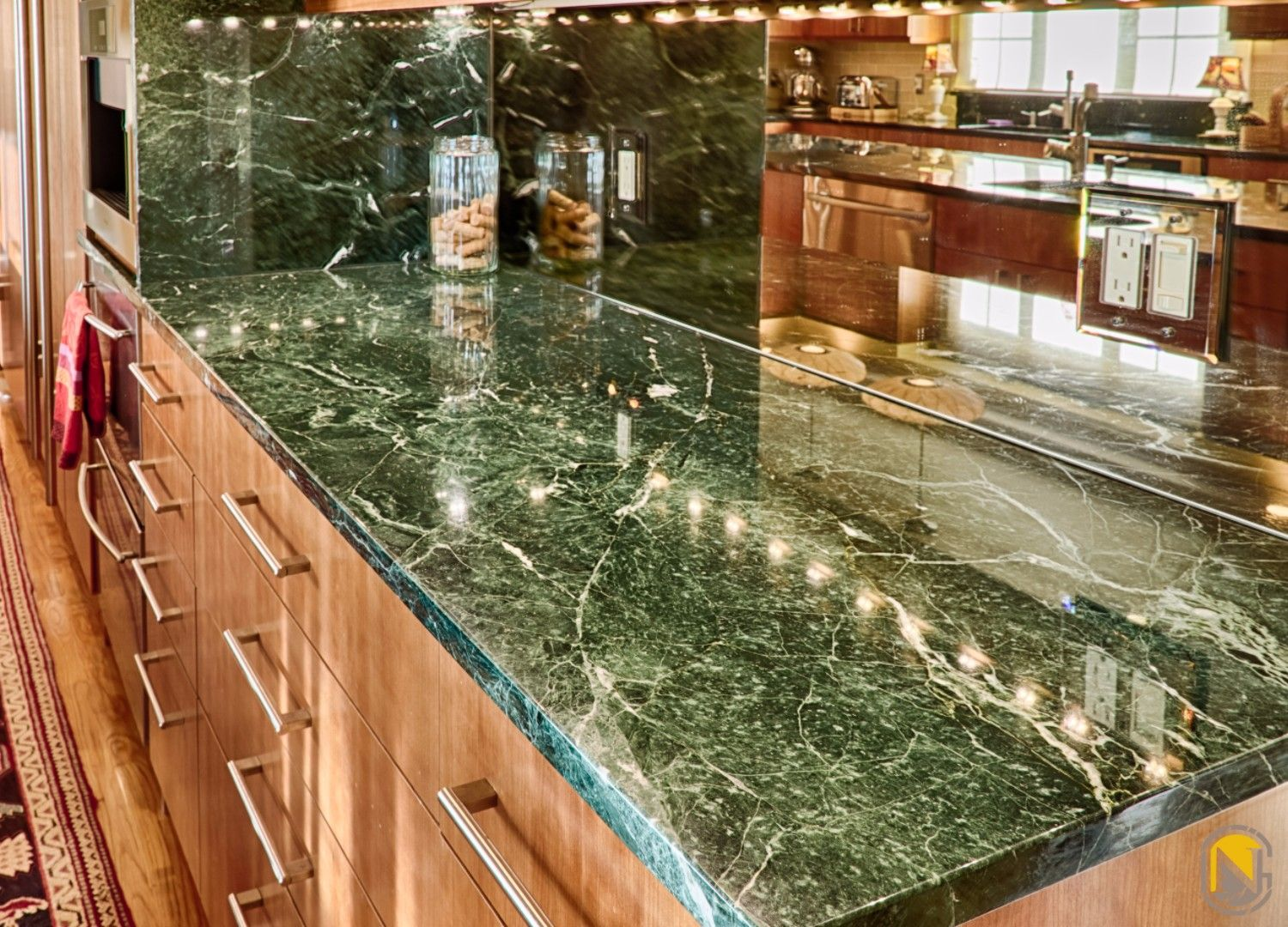Pin On Exotic Rainforest Granite Kitchen